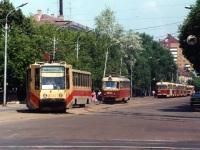 Уфа. 71-608К (КТМ-8) №1150, 71-608К (КТМ-8) №1152, Tatra T3SU №3104