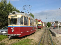 Львов. Tatra KT4 №1004, Gotha T59E №002, Tatra T4 №869