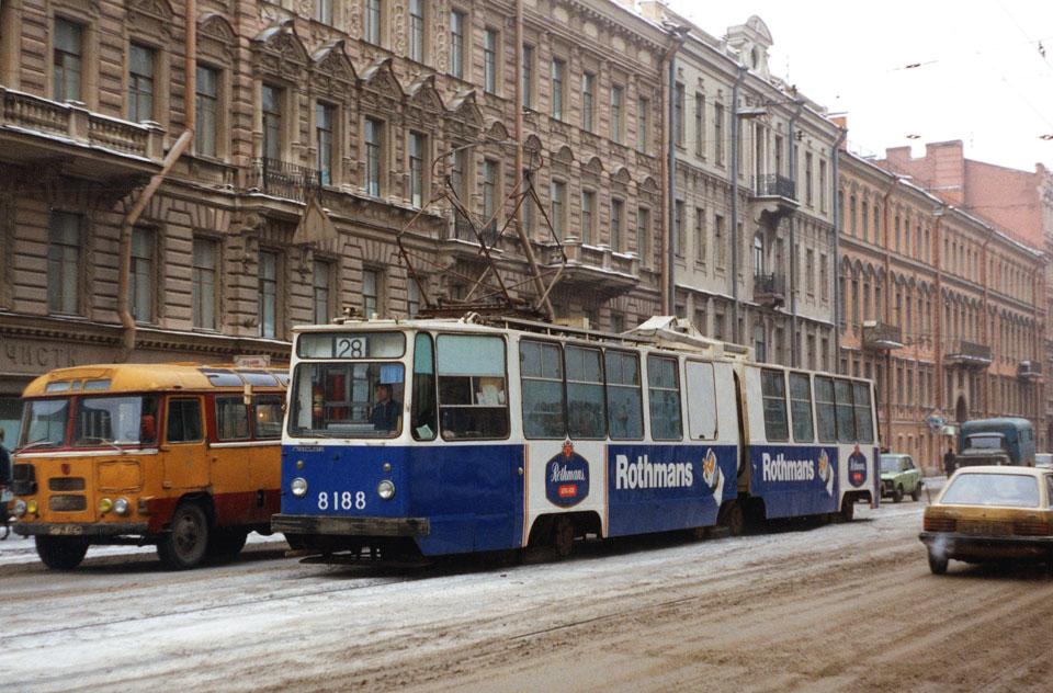 Санкт-Петербург. ЛВС-86К №8188