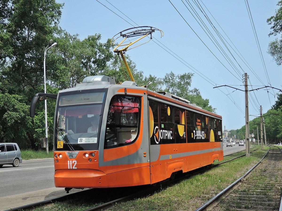 Хабаровск. 71-623-02 (КТМ-23) №112