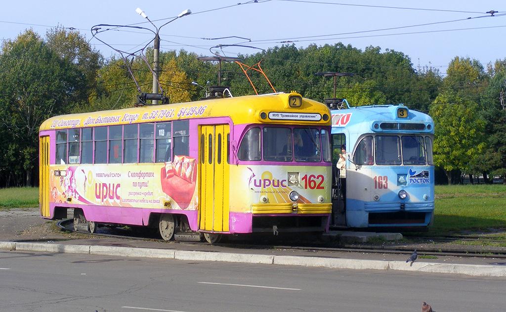 Комсомольск-на-Амуре. РВЗ-6М2 №162, РВЗ-6М2 №163