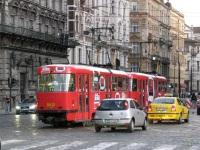 Прага. Tatra T3 №8412
