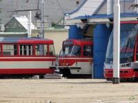Прага. Tatra T3 №5523