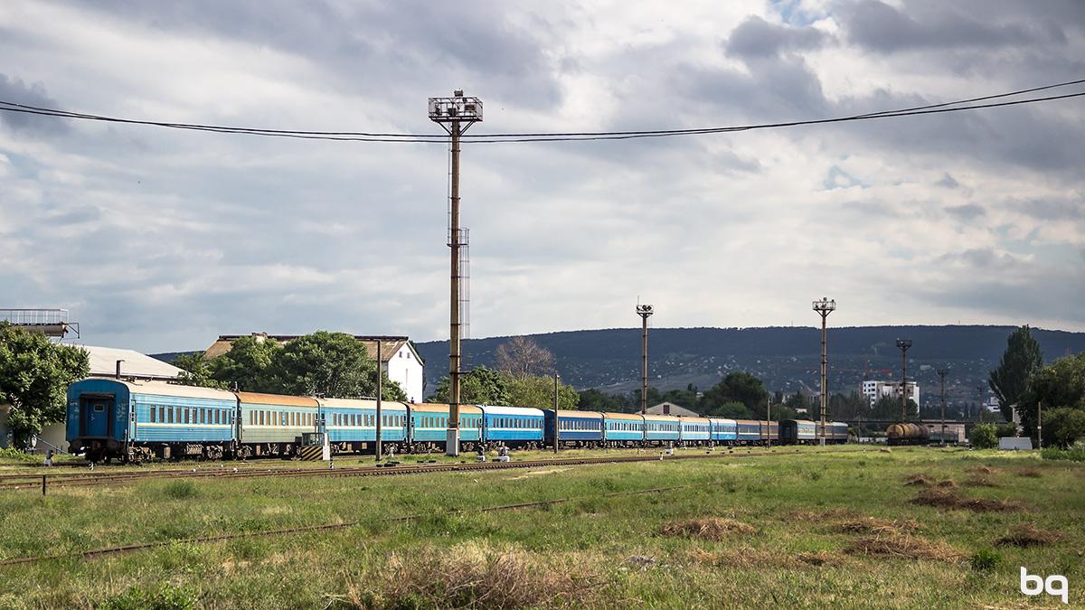 Феодосия. Станция Айвазовская