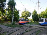 Таганрог. 71-605 (КТМ-5) №309, 71-608К (КТМ-8) №373