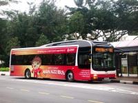 Сингапур. Gemilang (MAN NL323F) SMB189A
