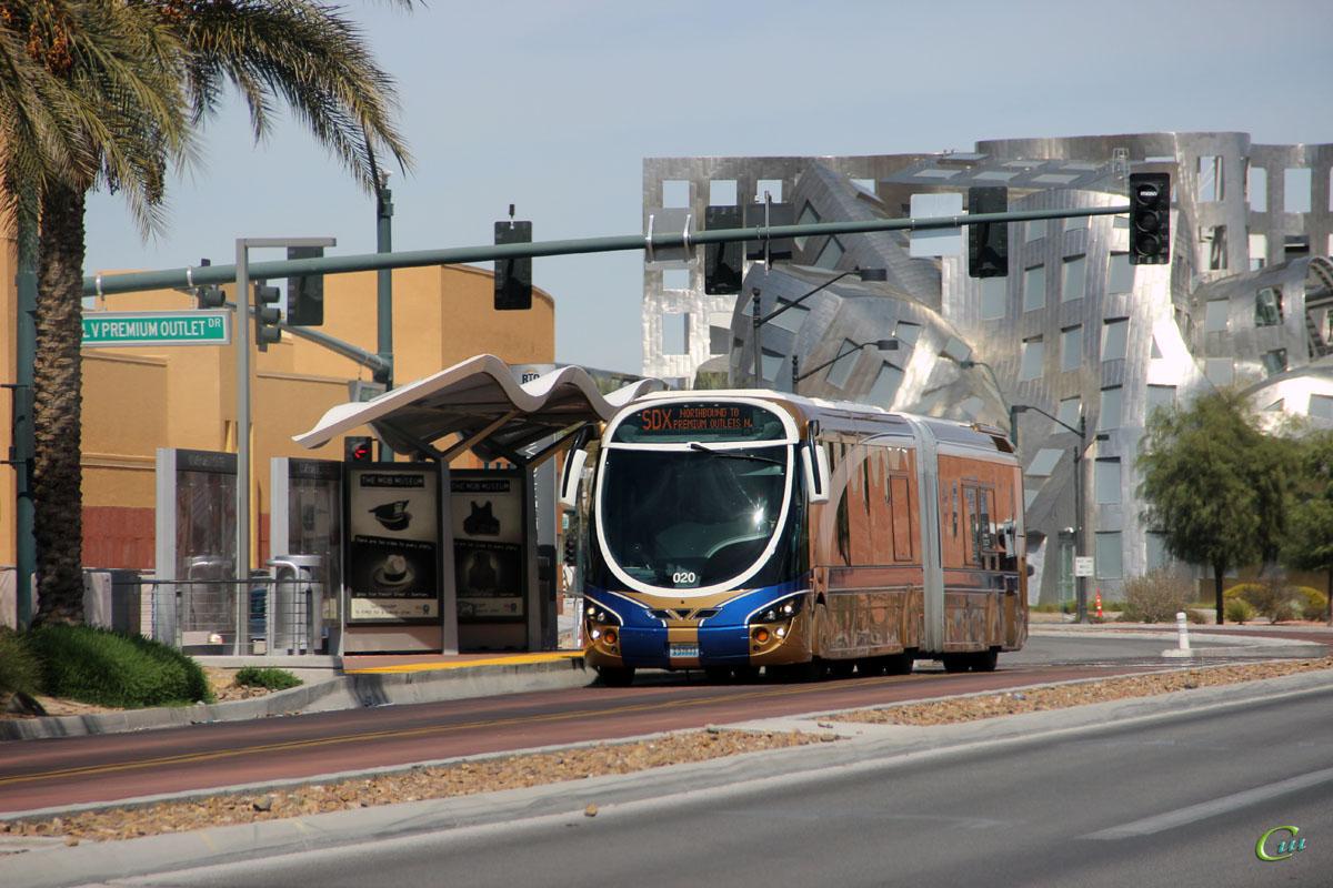 Лас-Вегас. Wright StreetCar RTV EX 53633