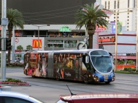 Лас-Вегас. Wright StreetCar RTV EX 59975