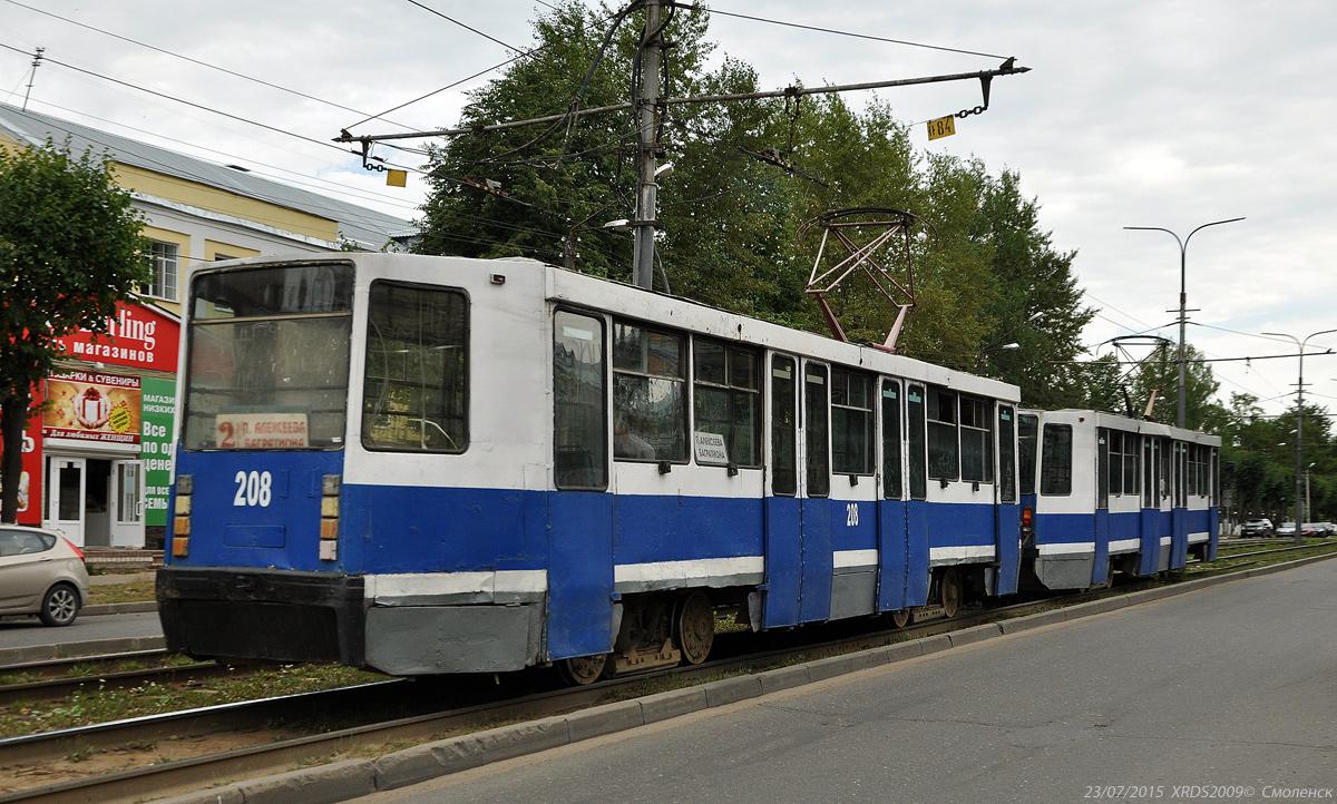 Смоленск. 71-608К (КТМ-8) №207, 71-608К (КТМ-8) №208