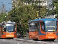 Хабаровск. 71-623-00 (КТМ-23) №114, 71-623-02 (КТМ-23) №117