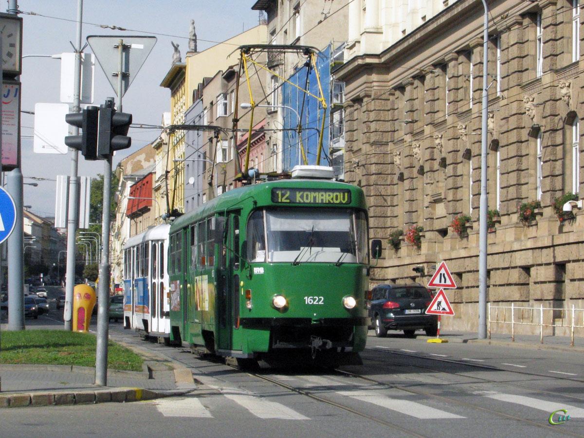 Брно. Tatra T3 №1622