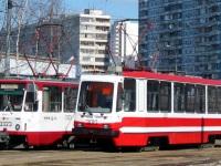 Москва. Tatra T7B5 №3323, 71-134А (ЛМ-99АЭ) №3010