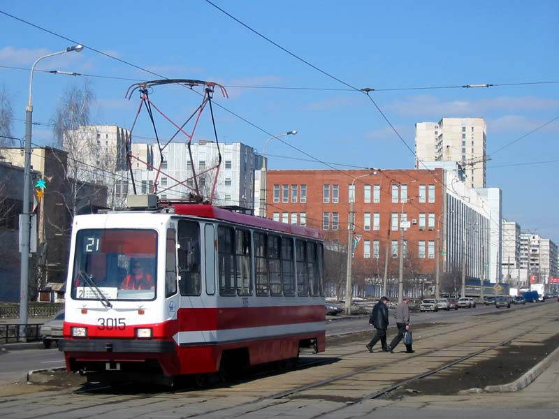Москва. 71-134А (ЛМ-99АЭ) №3015