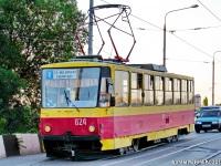 Ростов-на-Дону. Tatra T6B5 (Tatra T3M) №824