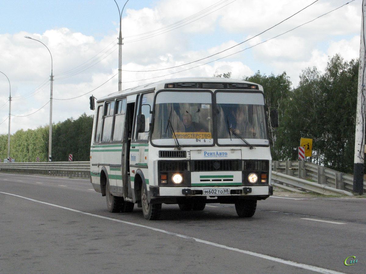 Тамбов. ПАЗ-3205 м602то