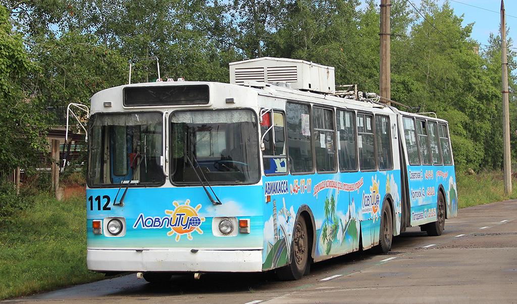 Братск. ЗиУ-6205 №112