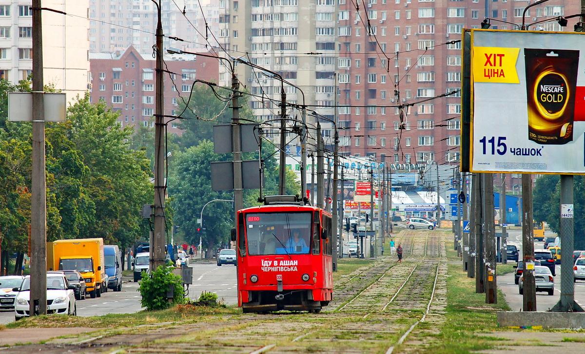 Киев. Tatra T6B5 (Tatra T3M) №008
