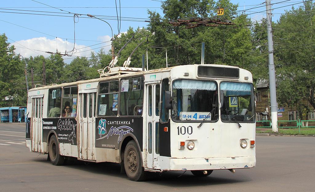 Братск. ЗиУ-682Г00 №100