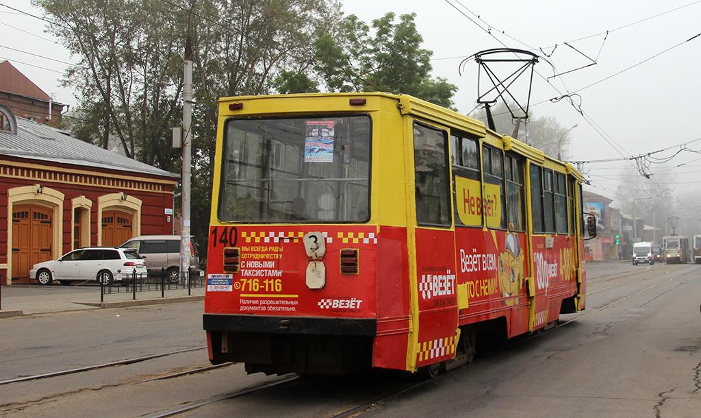 Иркутск. 71-605 (КТМ-5) №140