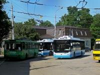 Крым. Богдан Т70110 №4301, Škoda 14Tr06 №1952