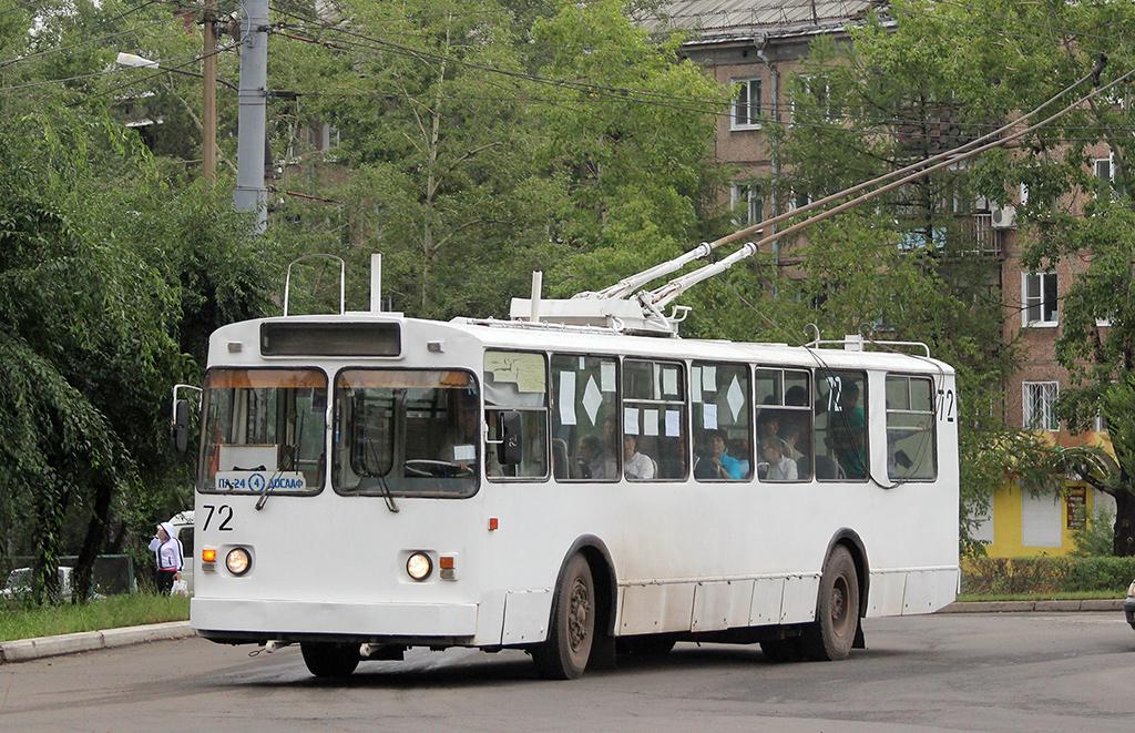 Братск. ВМЗ-100 №72