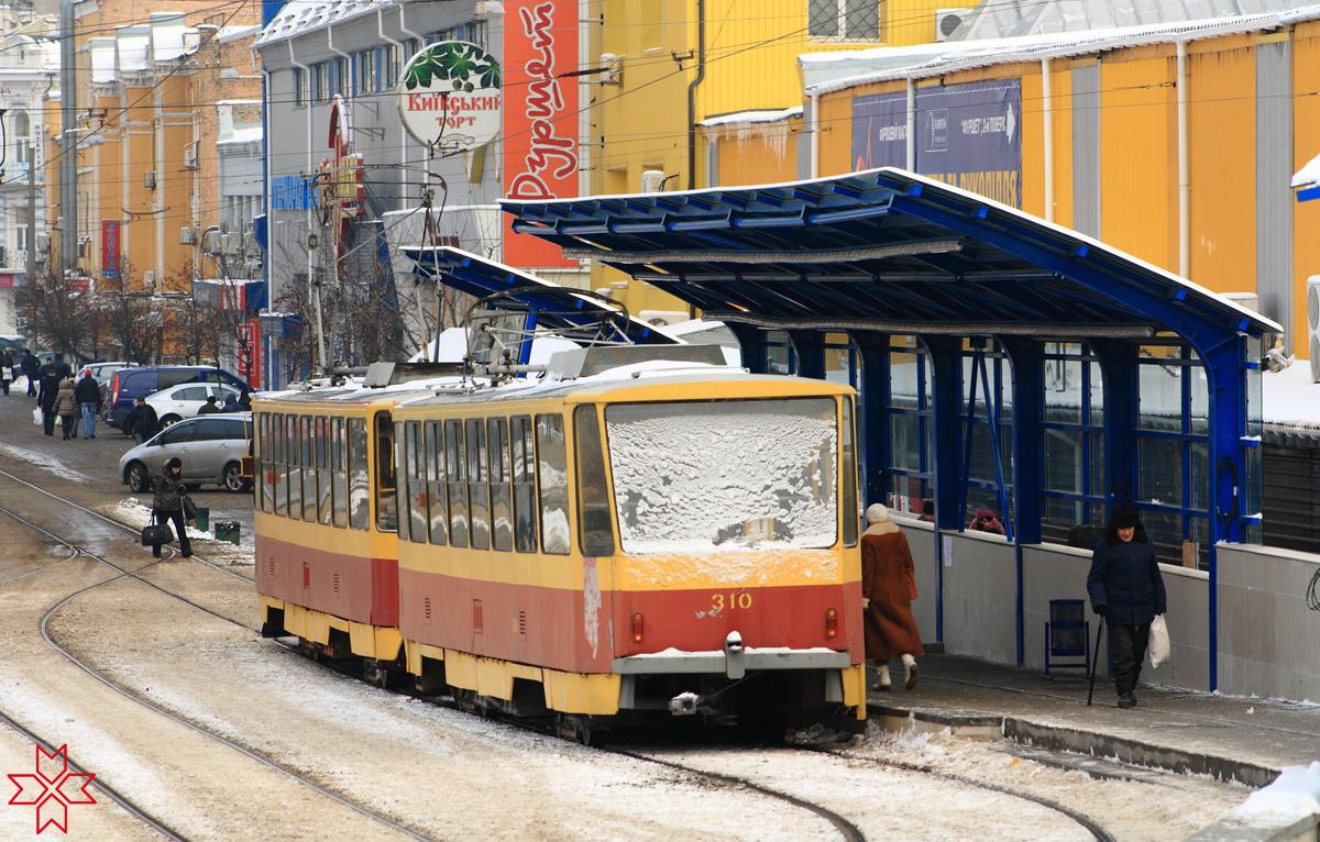 Киев. Tatra T6B5 (Tatra T3M) №310