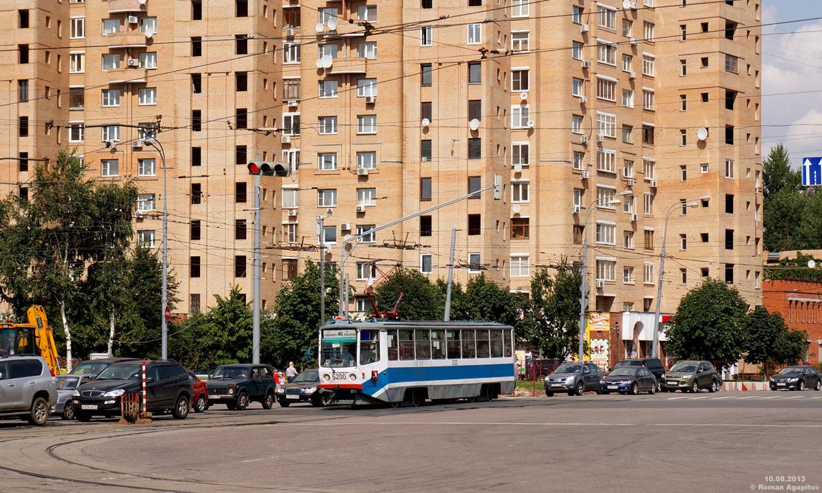 Москва. 71-608КМ (КТМ-8М) №5200