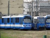 Краков. Konstal 105N №943, Duewag GT8S №3044