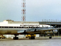 Пассажирский самолёт ИЛ-18 № 75409