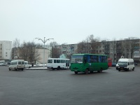 Гродно. Площадка для отстоя пригородных автобусов и маршруток