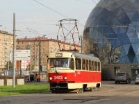 Москва. Tatra T3 (МТТЧ) №3403
