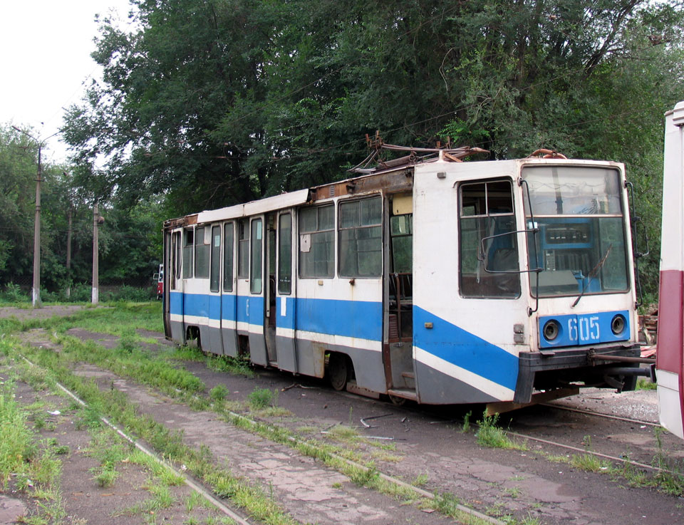 Мариуполь. 71-608К (КТМ-8) №605