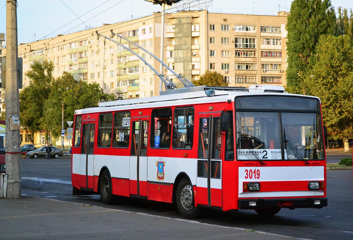 Николаев. Škoda 14Tr №3019