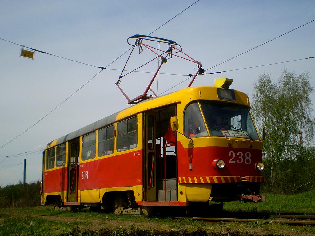 Тверь. Tatra T3SU №238