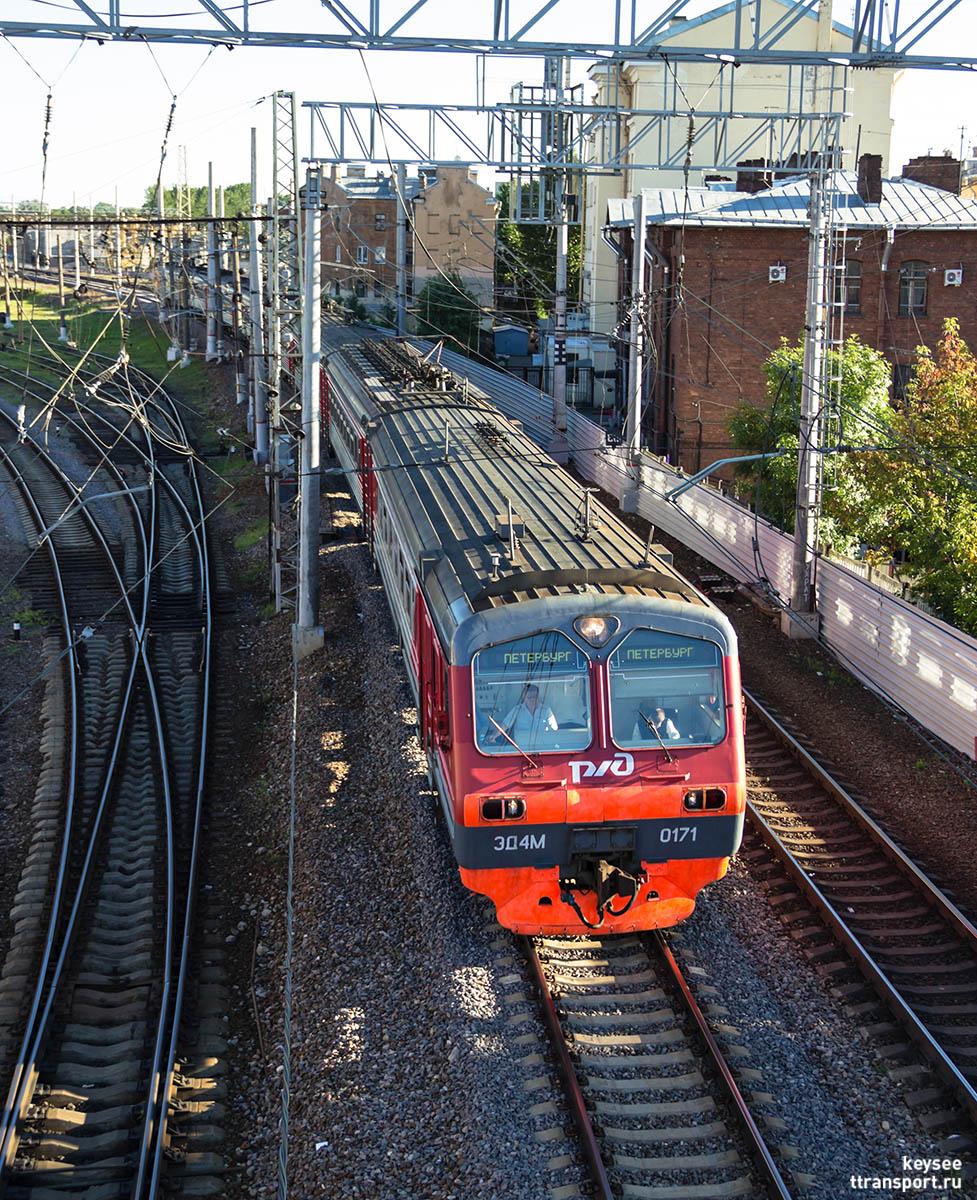 Санкт-Петербург. ЭД4М-0171