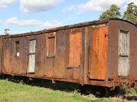 Переславль-Залесский. Пассажирский вагон IV класса