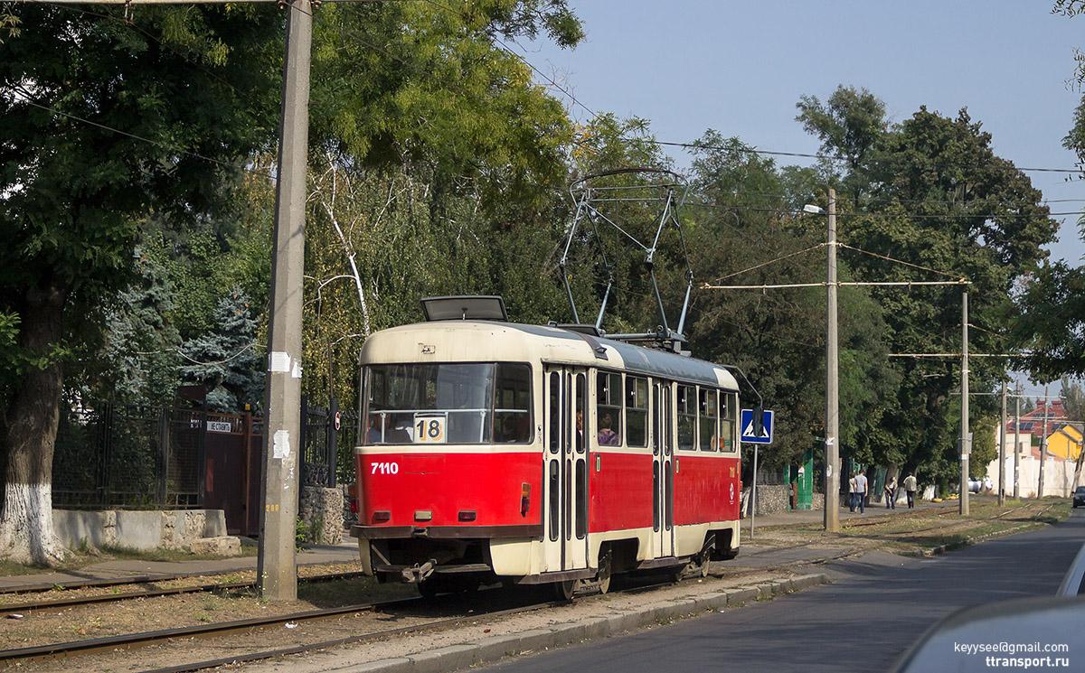 Одесса. Tatra T3SUCS №7110