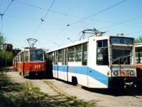 Кемерово. 71-608К (КТМ-8) №185, 71-605 (КТМ-5) №117