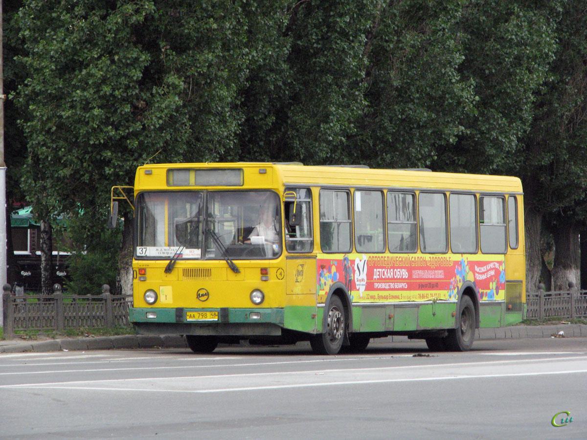 Липецк. ЛиАЗ-5256.40 аа798