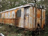 Гусь-Хрустальный. Пожарный вагон из вагона ПВ40