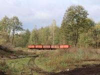 Гусь-Хрустальный. Торфовозные полувагоны 42-077