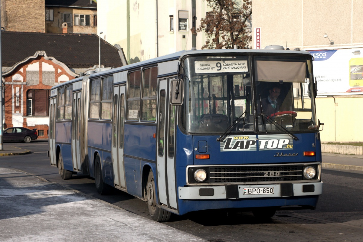 Будапешт. Ikarus 280.49 BPO-850