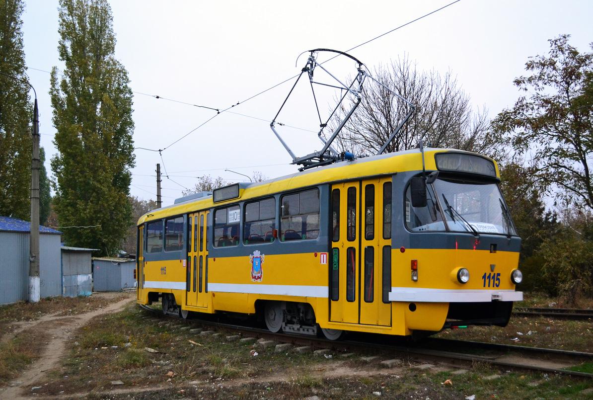 Николаев. Tatra T3M.05 №1115
