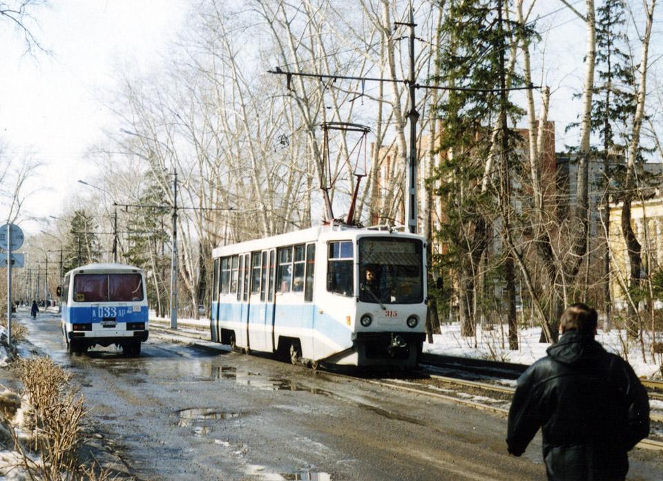 Томск. 71-608КМ (КТМ-8М) №315, ПАЗ-3205 а033ар