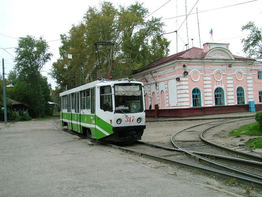 Томск. 71-608КМ (КТМ-8М) №317