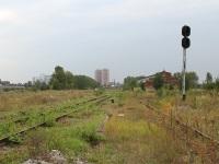 Санкт-Петербург. Территория бывшей станции Санкт-Петербург-Варшавский