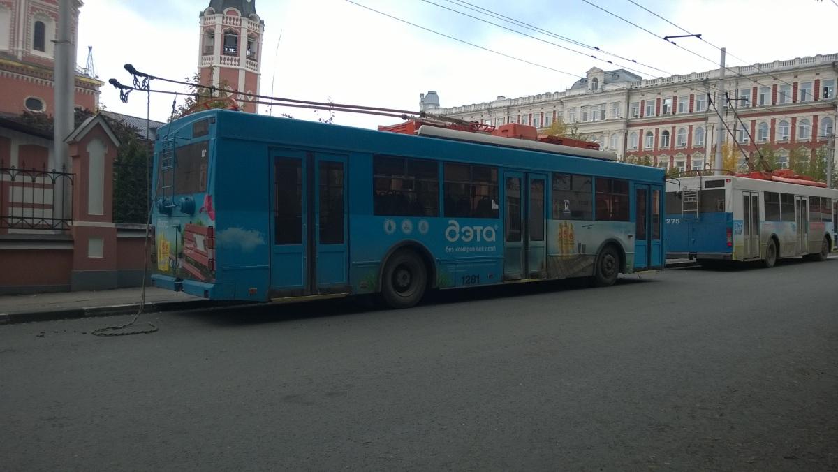 Саратов. ТролЗа-5275.05 №1281
