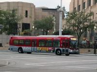 Лос-Анджелес. NABI Metro 45C №8037