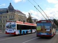 Вильнюс. Škoda 14Tr №1512, Solaris Trollino 15 №1708