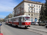 Самара. Tatra T3SU №846